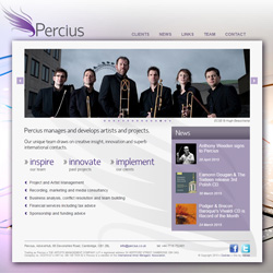Percius Artist and Project Management